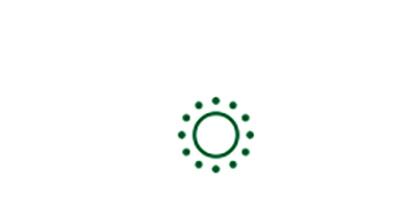 Icono de sol del factor de riesgo de padecer cataratas asociado a la sobreexposición solar.